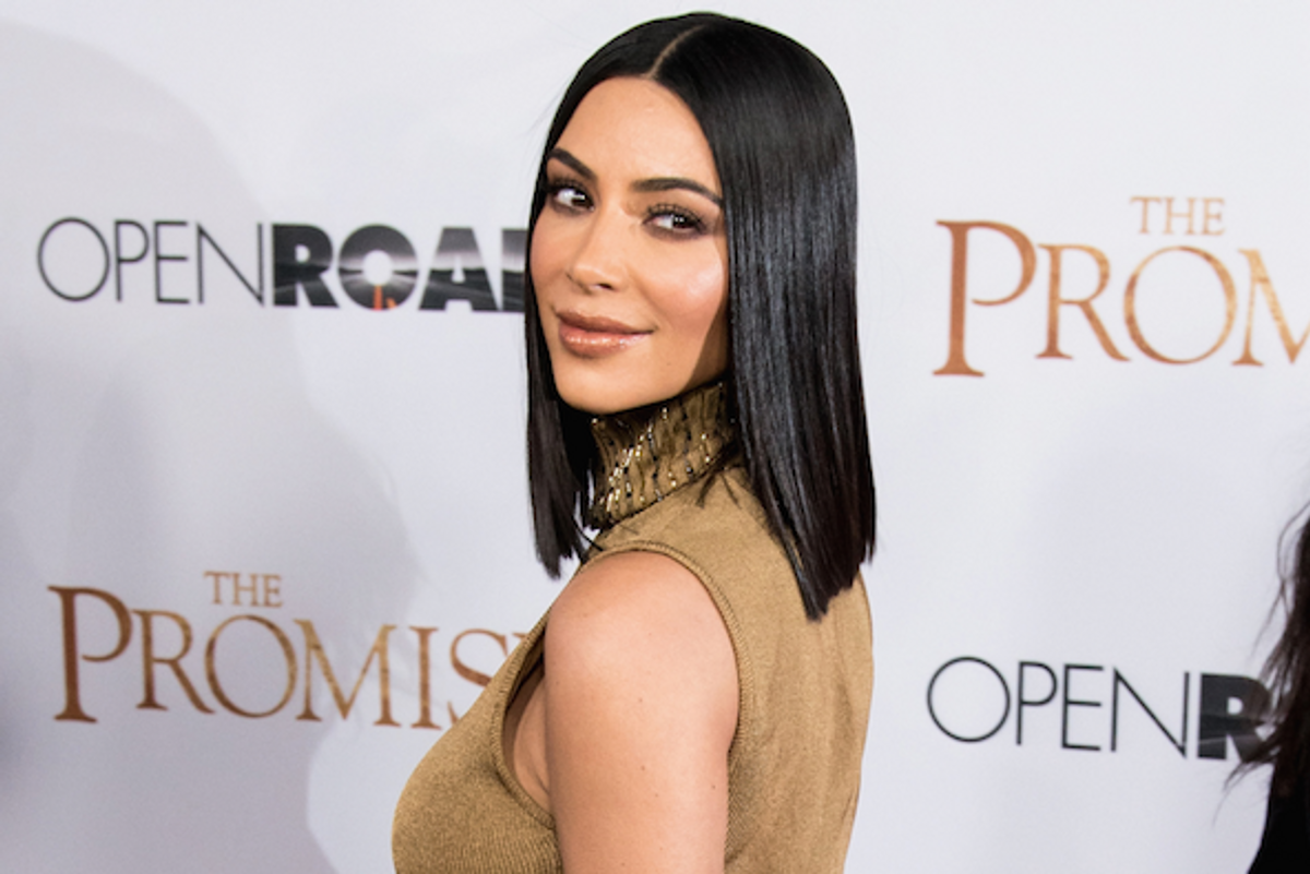 Kim Kardashian is Glad She Got the Flu So She Will Be Even Skinnier for the Met Ball