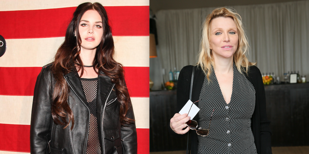 Just Like the Rest of Us, Lana Del Rey and Courtney Love Also Binge Shop on Etsy