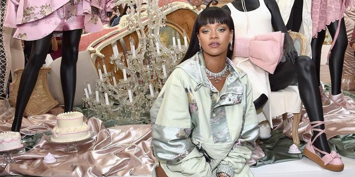 Watch Rihanna Be the Cashier of Your Dreams At Her Fenty x Puma Pop-Up