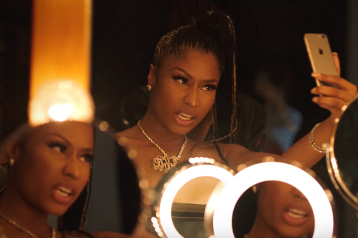 Please Watch This New Nicki Minaj and PARTYNEXTDOOR Video and Tell Me What it's Actually About