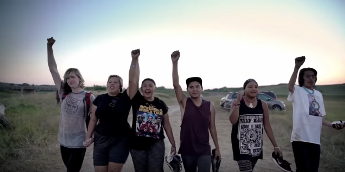 """Watch the Powerful """"Fixed Pepsi Ad"""" Featuring Real Standing Rock Protestors"""