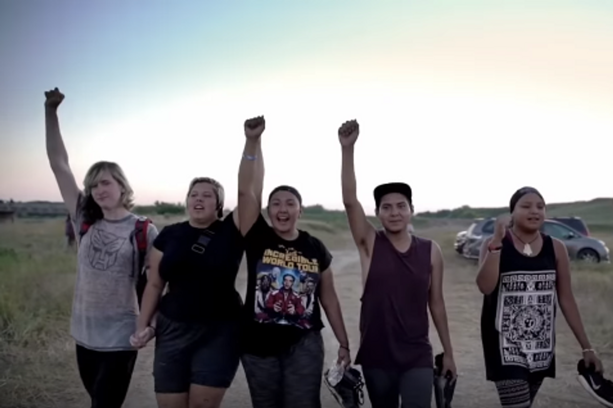 "Watch the Powerful ""Fixed Pepsi Ad"" Featuring Real Standing Rock Protestors"