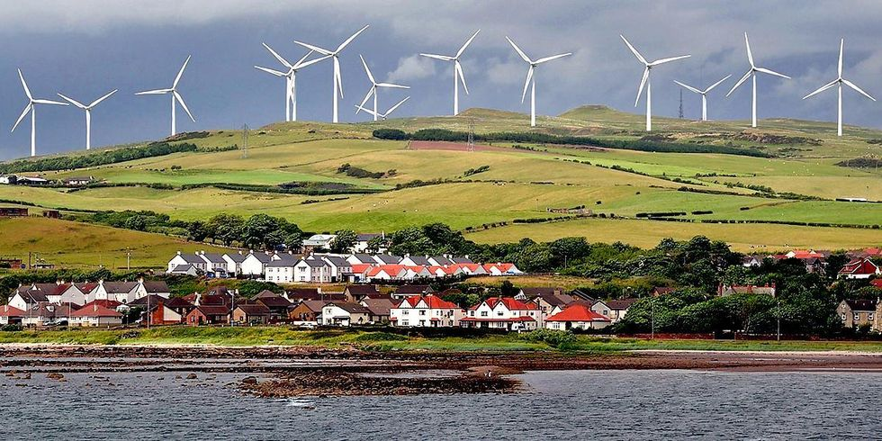 Scotland Sets Wind Record, Provides Enough Electricity for 3.3 Million Homes in March