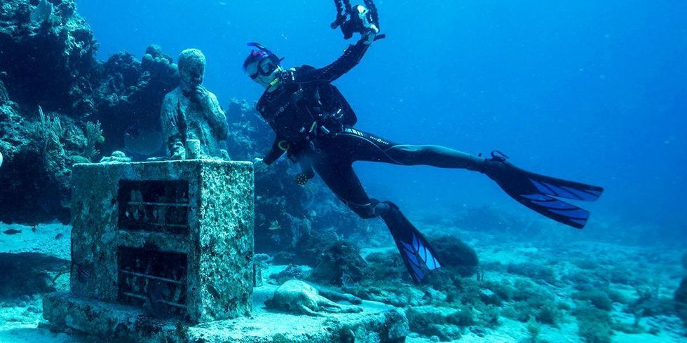 Underwater Museum of Art Attracts Divers, But Is It Enough to Save the Reefs?