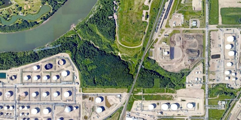 Pipeline Leaks Crude Oil Into Canadian Creek, Any of Four Energy Companies Could Be Responsible