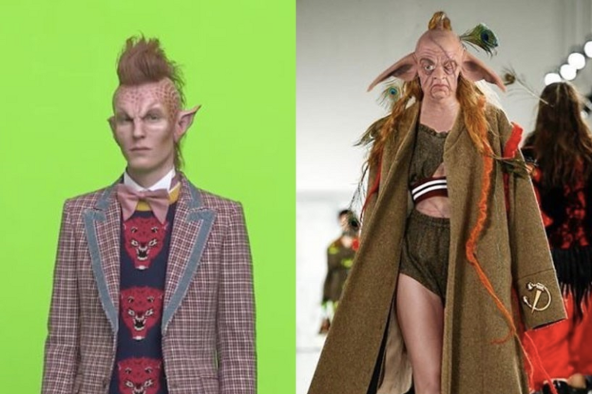 Gucci Responds to Claims It Stole Its Alien Concept From a Student