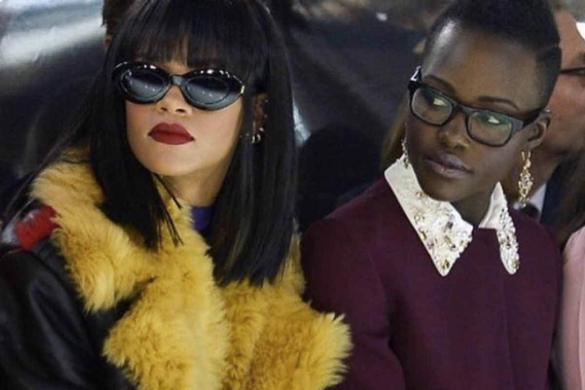 Rihanna and Lupita Nyong'o Develop Spy Movie on Twitter