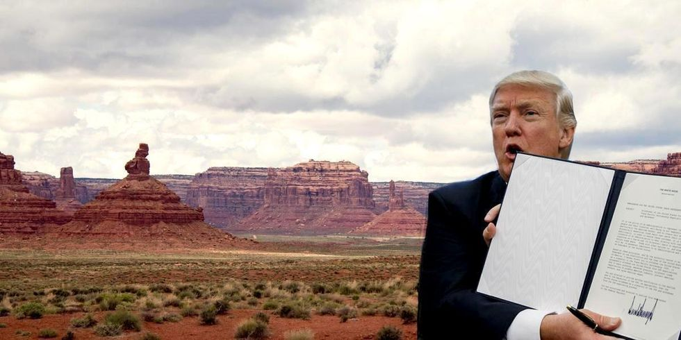 Trump to Launch Unprecedented Attack on National Monuments