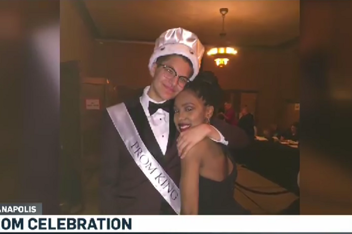 A Transgender Man was Voted Prom King at His Indiana High School