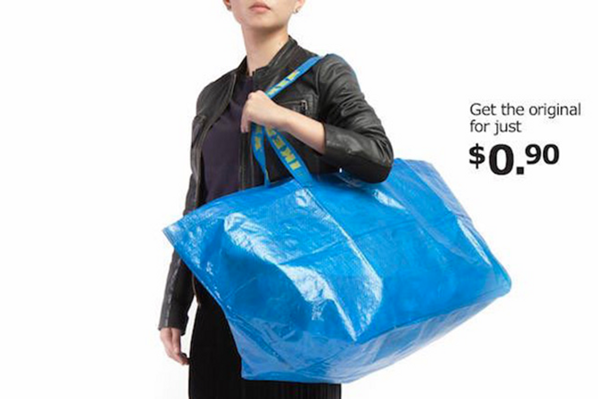 IKEA Have Responded to that Infamous Balenciaga Tote and it's Perfect
