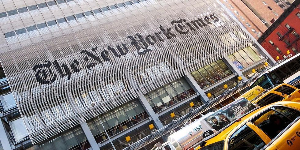 New York Times Defends Hiring Climate Science Denier