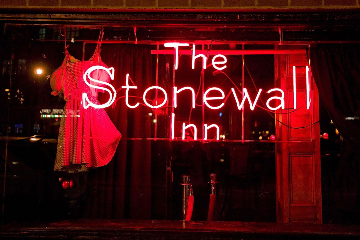 The Fate of the Stonewall Inn's Landmark Status Is In Trump's Tiny Hands