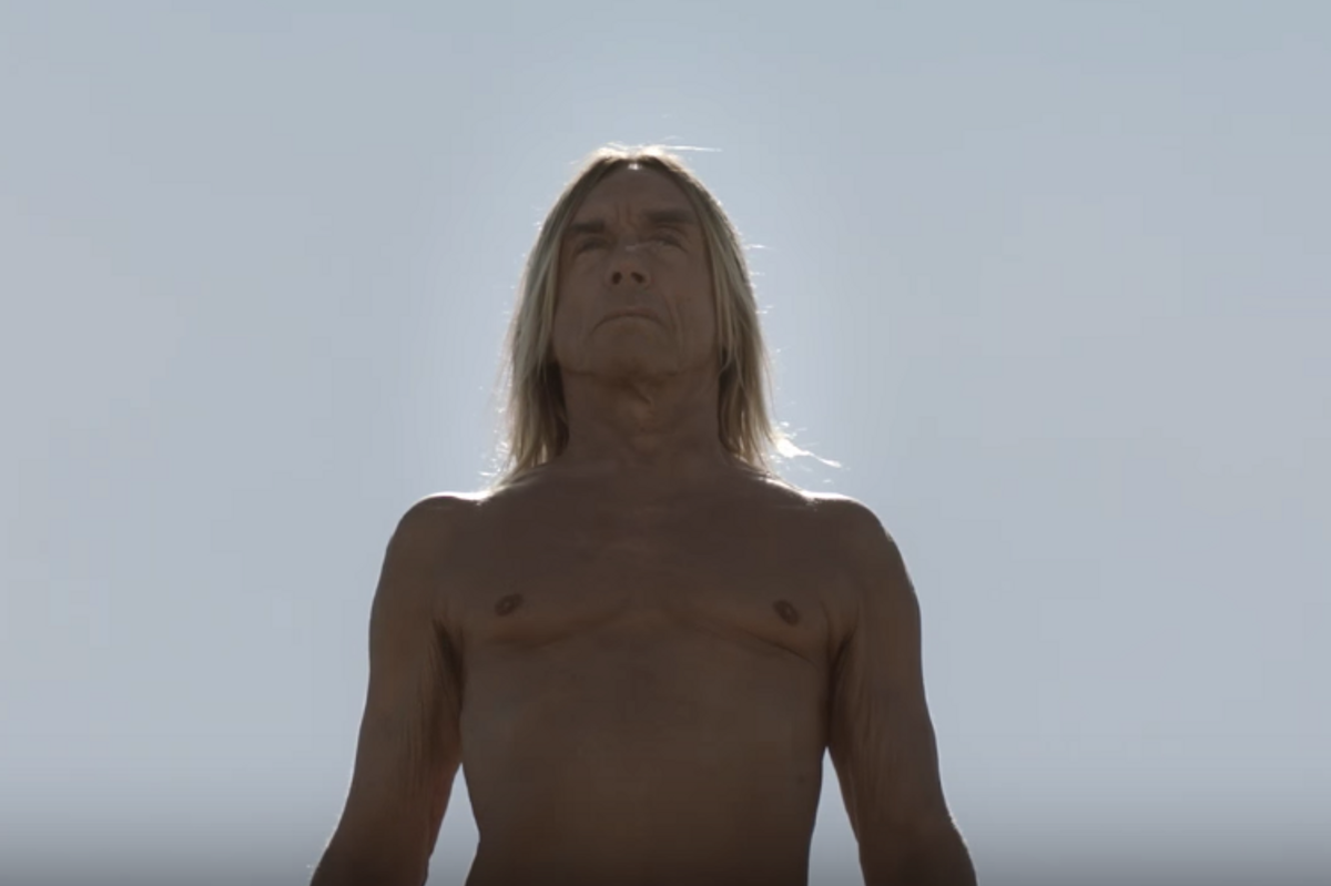 "Watch Iggy Pop Play An Angel In French Art House Film ""Starlight"""