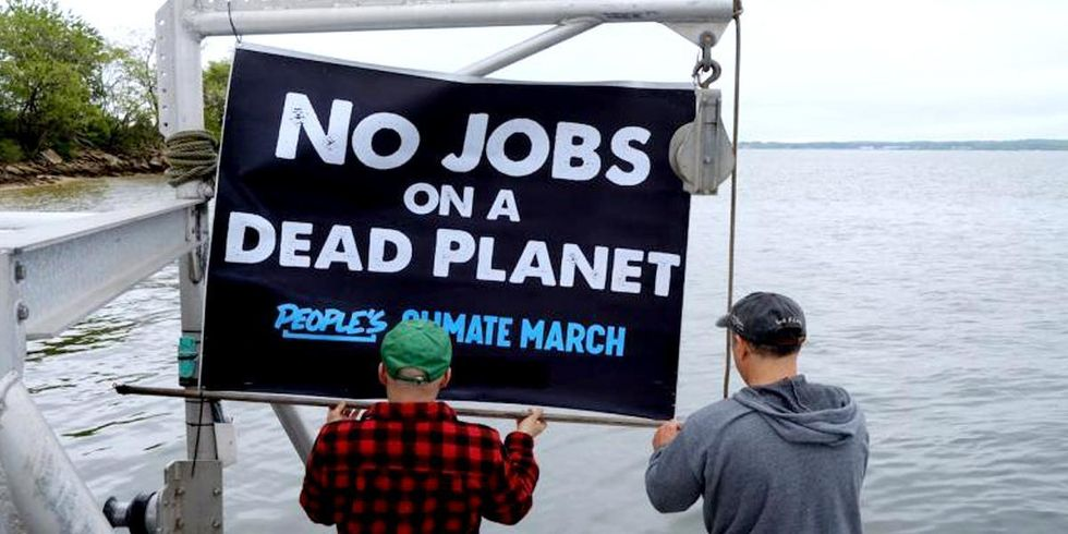 Ocean Farmers Begin 3-Day Journey to 'Climate March by Sea'