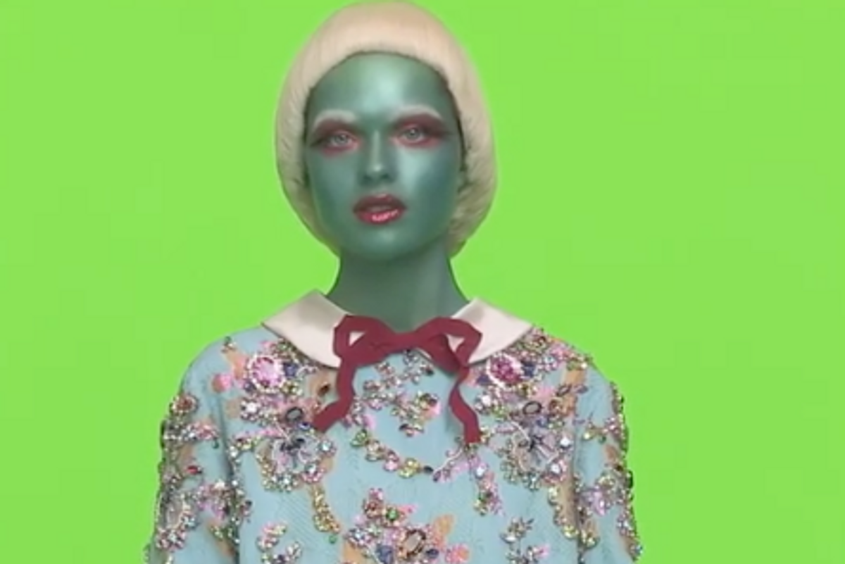 Gucci's New Campaign Stars A Bunch Of Dang Aliens