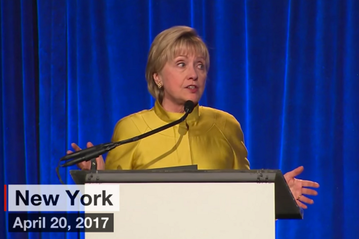 Hillary Clinton Slams Trump for Silence on Chechnya's Gay Concentration Camps