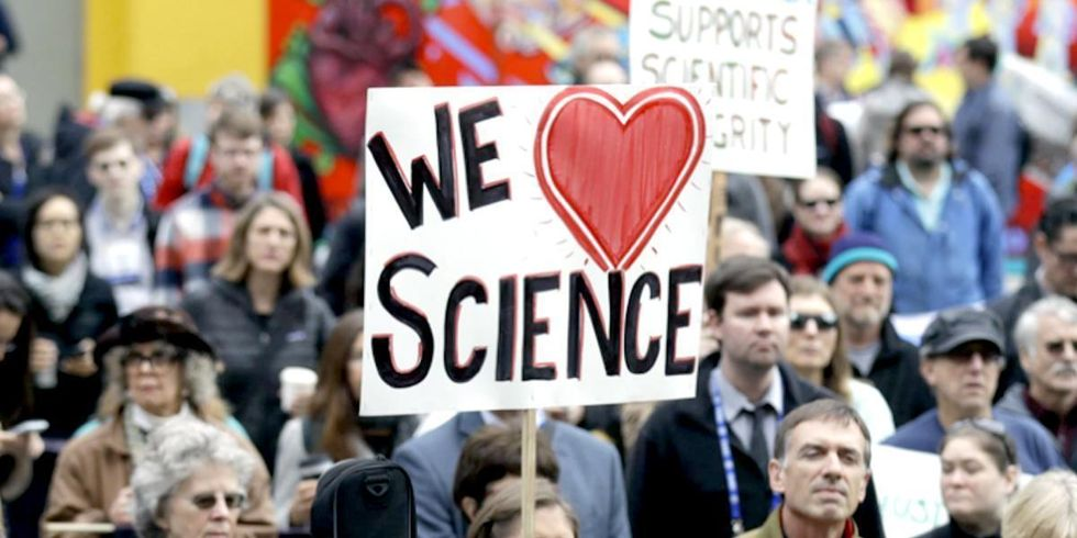 'The Science March Is About Respecting Science, the People's Climate March Is About Acting on It'