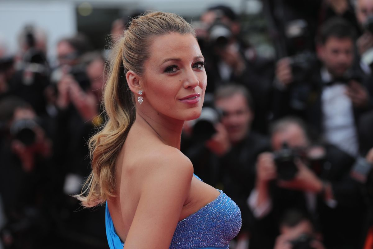 Blake Lively Just Came in Very, Very Hot on a Reporter Who Asked Her Who She's Wearing