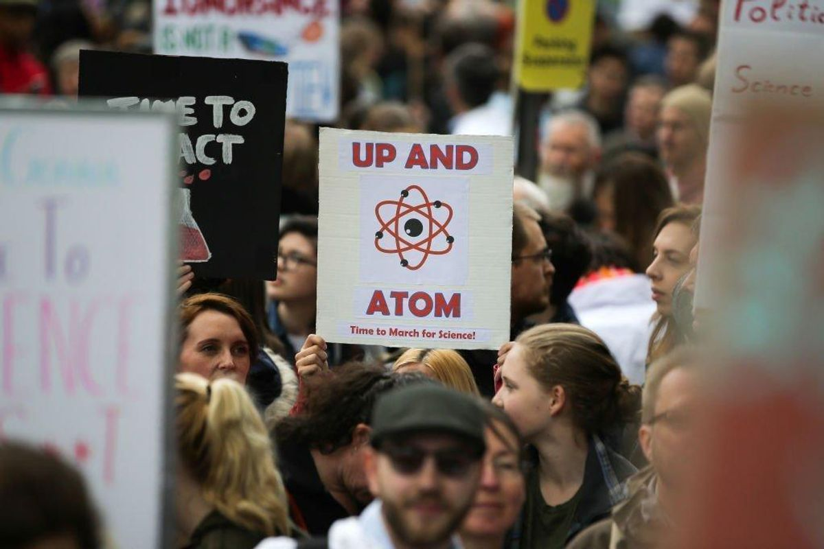 Scientists and Supporters Marched Around the World to Protest Government Interference