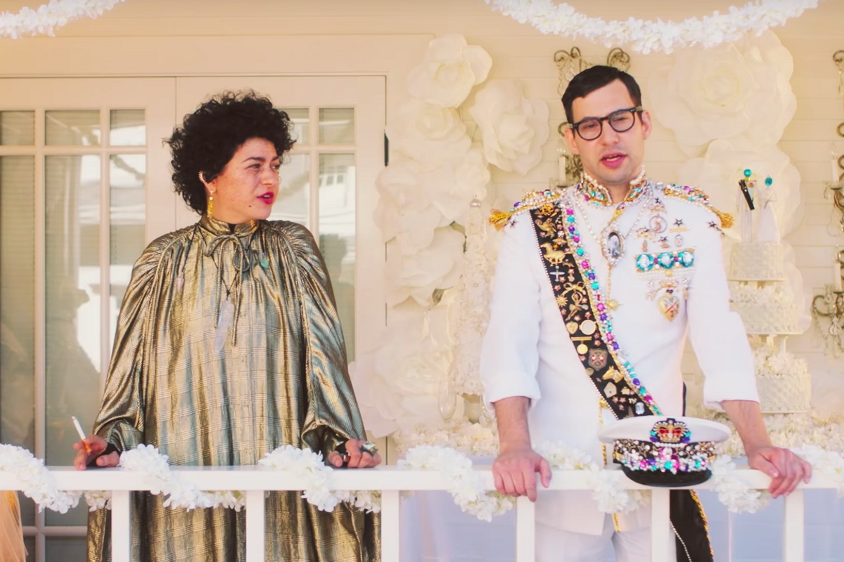 """Here's the Bizarre Lena Dunham-Directed Video for Bleachers and Lorde's """"Don't Take the Money"""""""