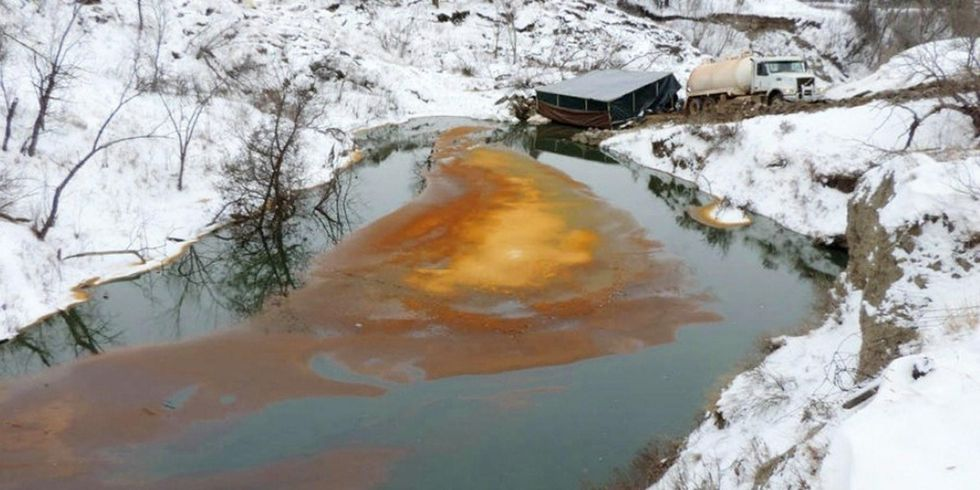 North Dakota Plagued by Oil Spills: 745 in One Year