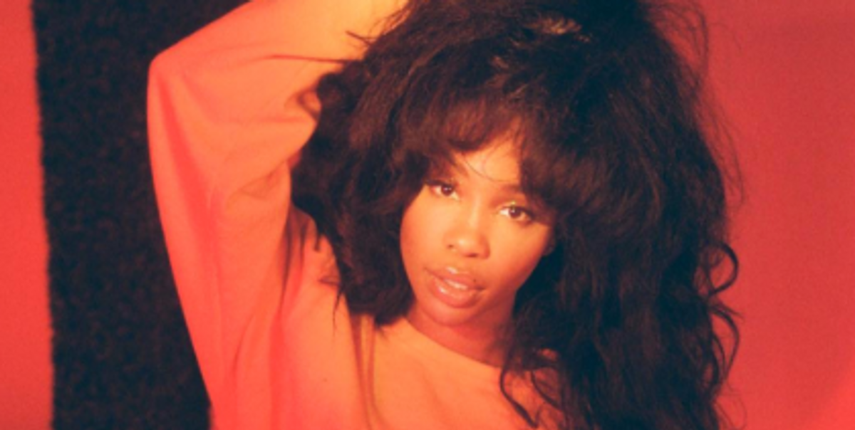 """Fall In Love With SZA's Amazing New Song, """"Love Galore"""" Feat. Travis Scott"""