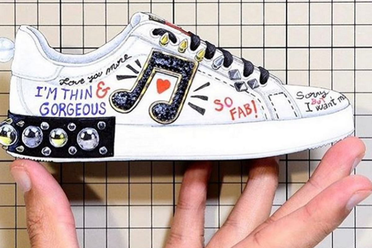 """Stefano Gabbana Responds to Backlash Over Dolce & Gabbana's """"Thin & Gorgeous"""" Shoe, Makes it Worse"""