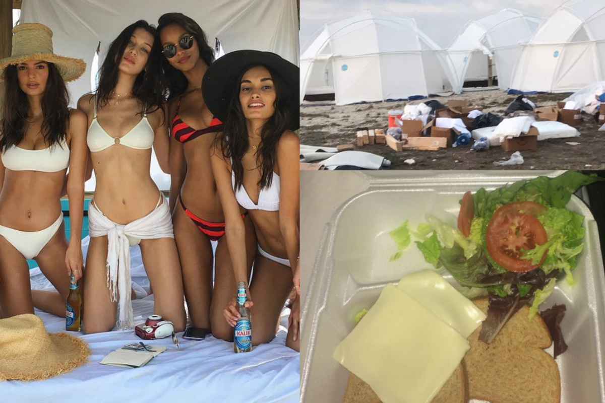 Updated: The Kendall Jenner and Bella Hadid-Promoted FYRE Festival Pretty Much Resembles the Apocalypse