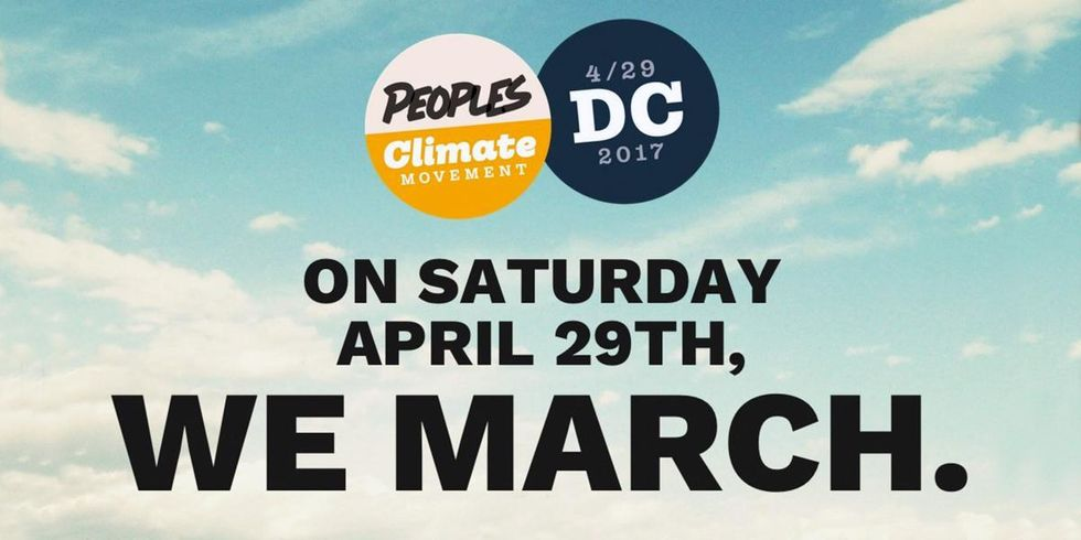 WATCH LIVE NOW: People's Climate March in DC