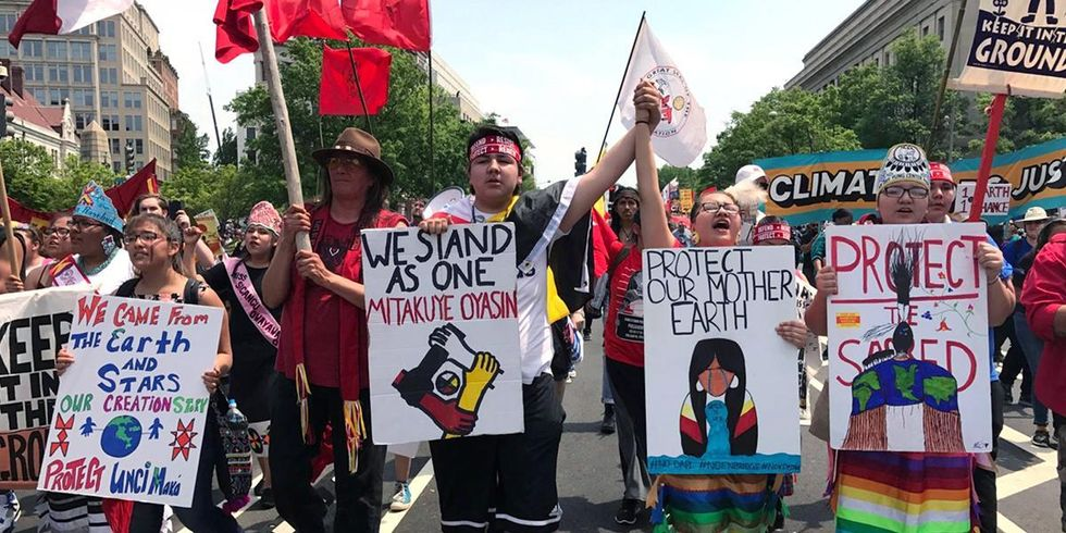 People's Climate March Draws Massive Crowd in DC