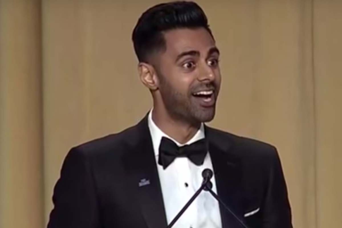 Comedian Hasan Minhaj Delivered an Address Full of Zingers at the White House Correspondents' Dinner