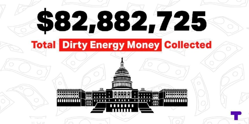 180 Climate Deniers in Congress Received $82 Million in Dirty Money