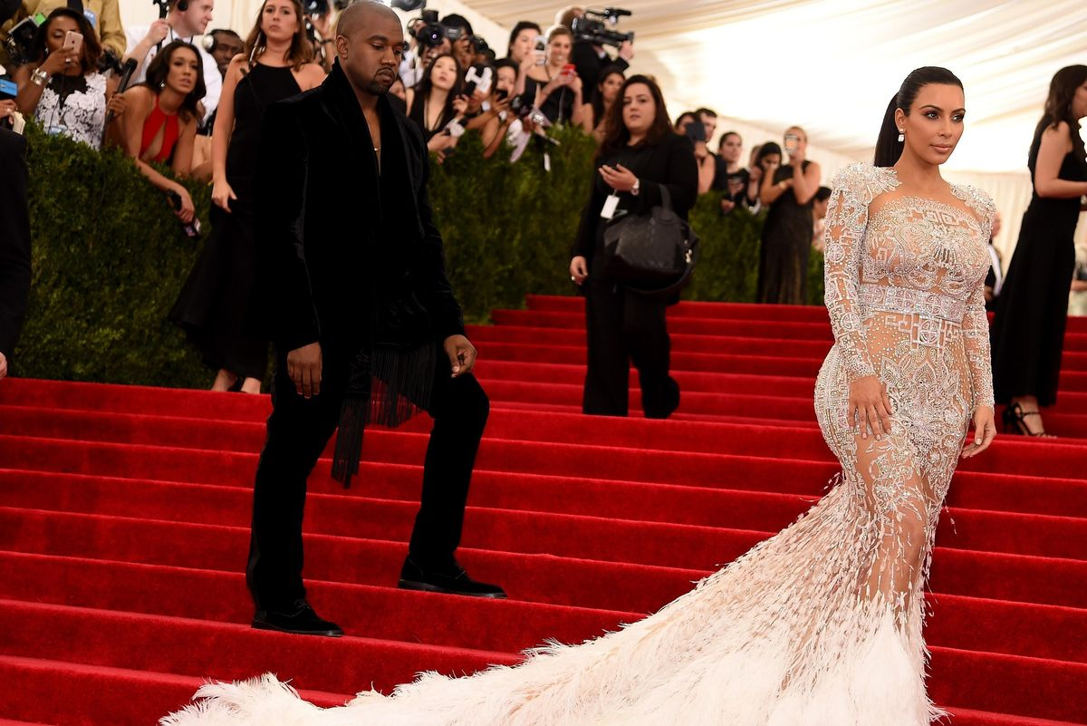 Kanye Will Not Be Attending The Met Gala, Kim Will Fly Solo