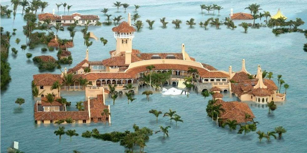 Not Even Trump's Mar-a-Lago Will Be Spared From Sea Level Rise