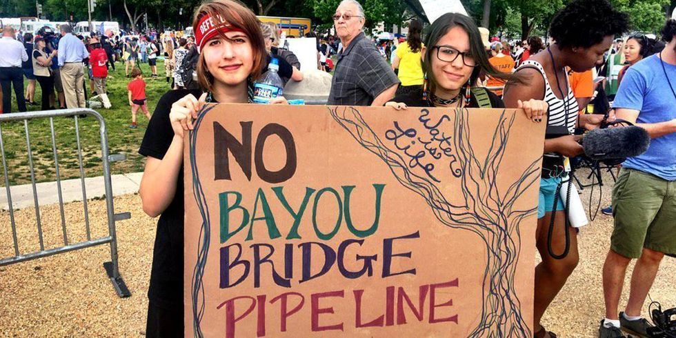 After DAPL, Pipeline Fight Moves to Louisiana