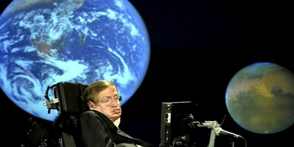 Stephen Hawking: We Have 100 Years to Find a New Planet