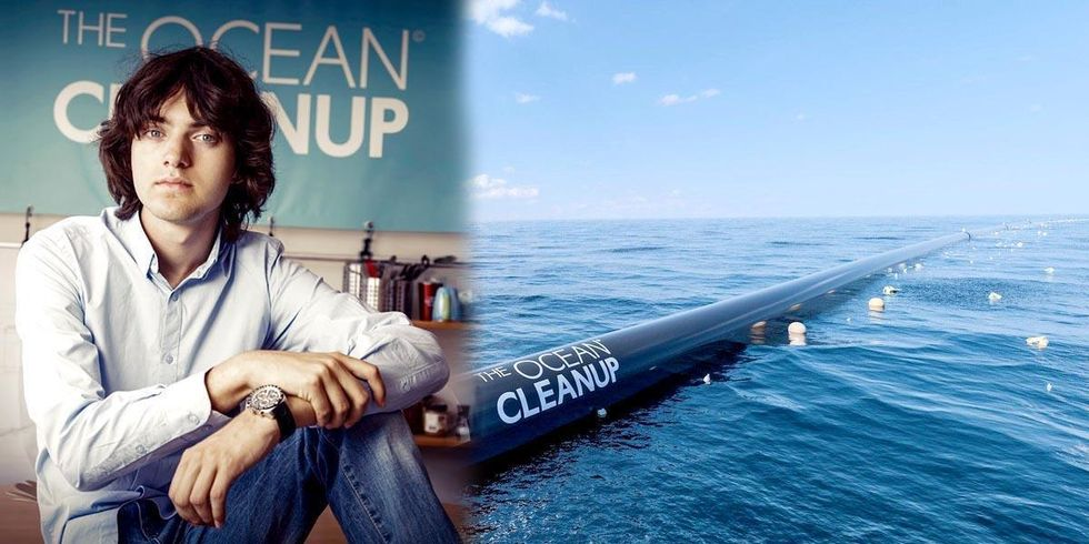 22-Year-Old Raises $21.7 Million to Rid Pacific Ocean of Plastic