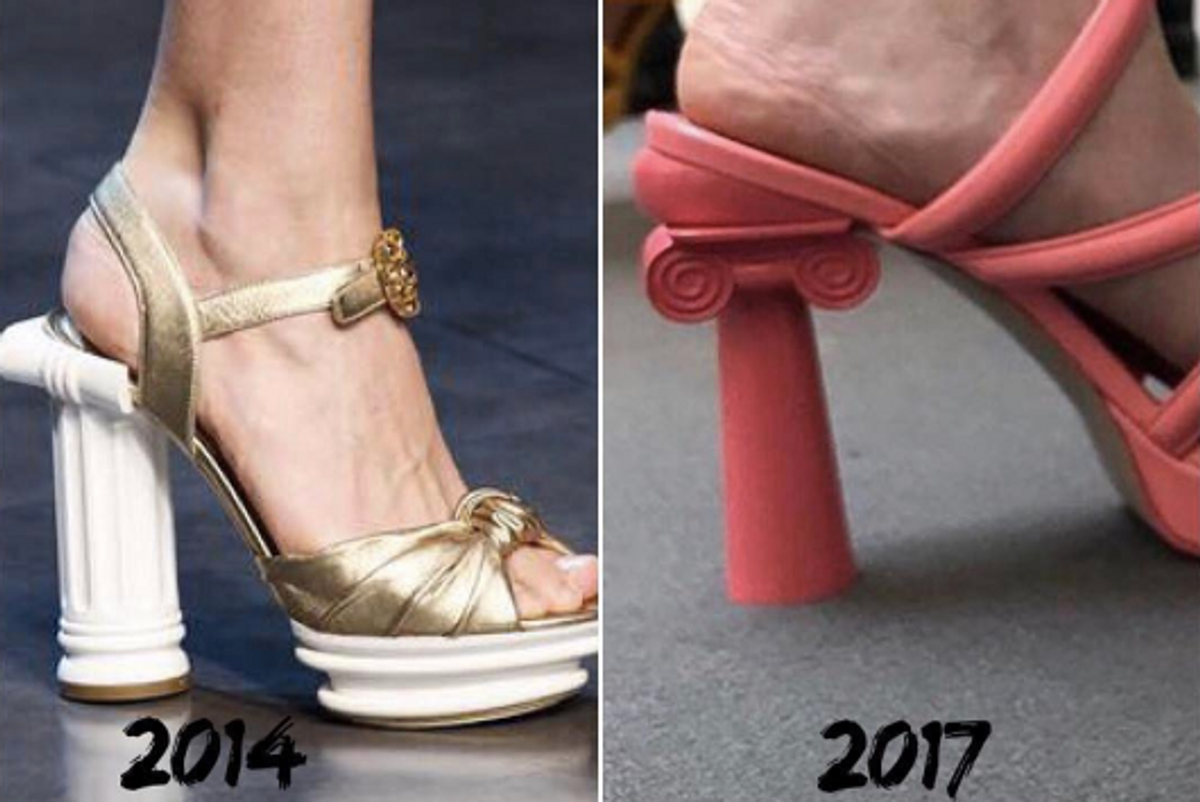 UPDATE: Chanel Responds to Stefano Gabbana Calling These Shoes a Copycat On Instagram