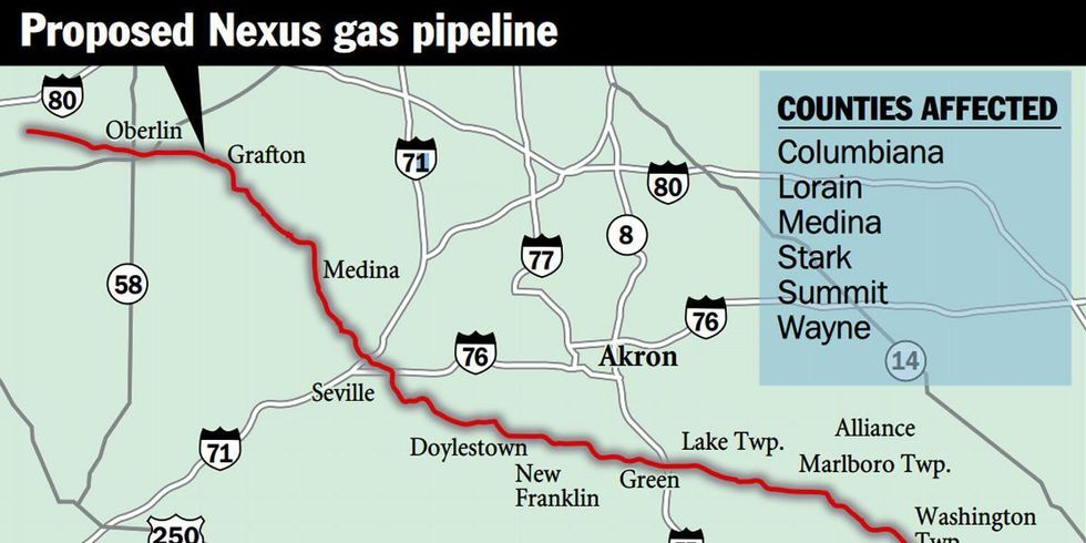 Ohio City Plans Lawsuit to Stop Nexus Pipeline