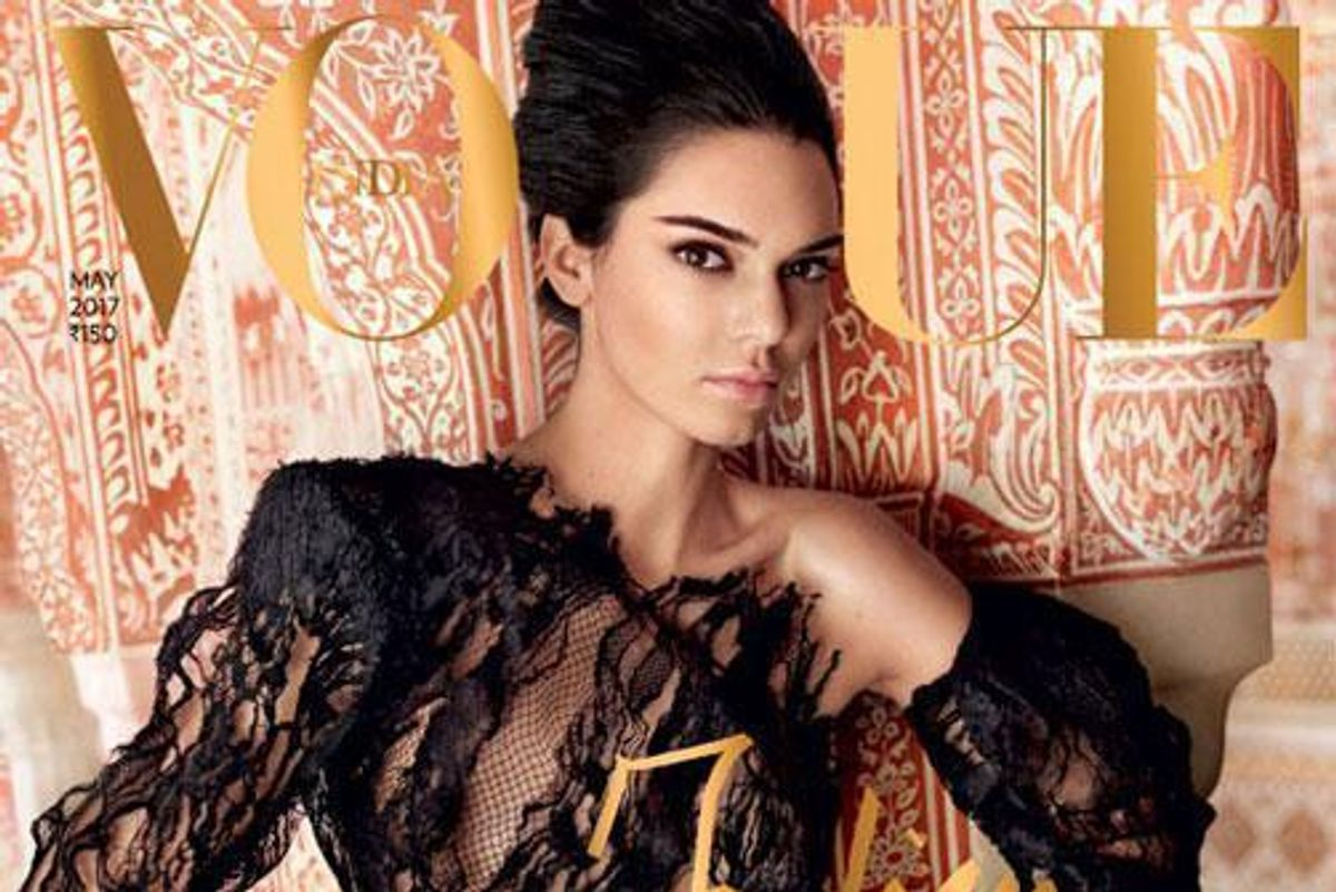 Kendall Jenner Faces Backlash For Vogue India Cover