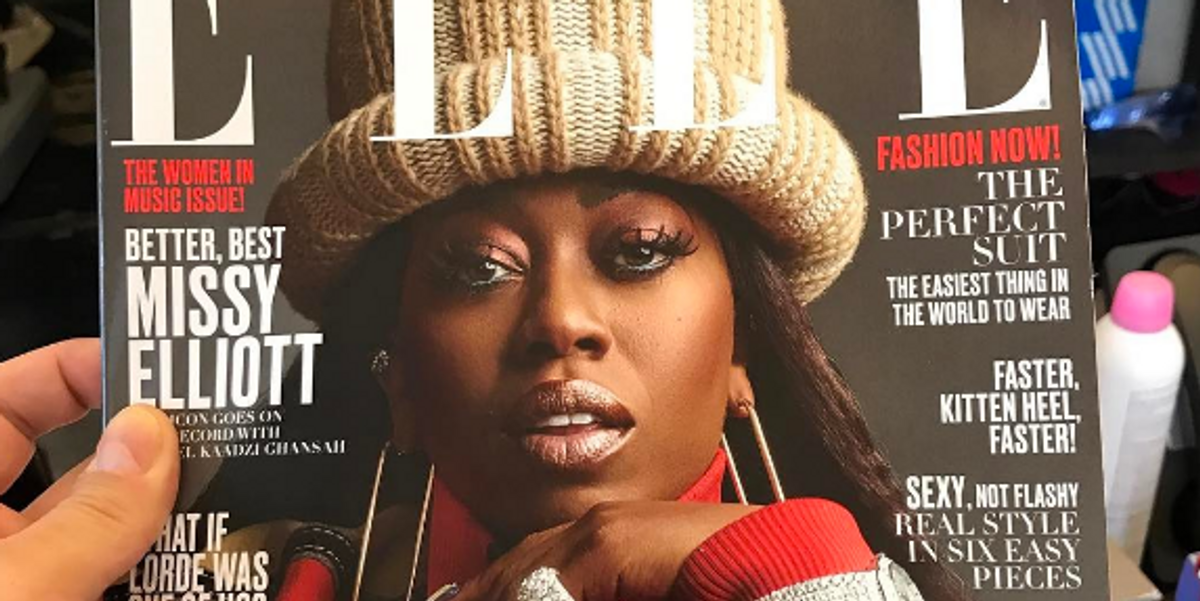 Did Marc Jacobs Just Leak Missy Elliott's June ELLE Cover?