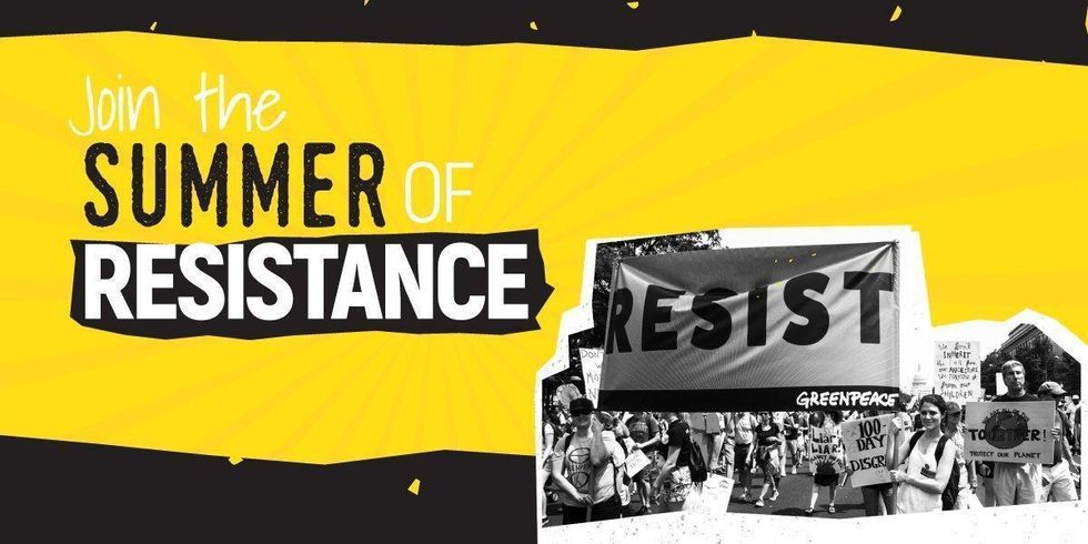 Join the Summer of Resistance to Protect Our Planet