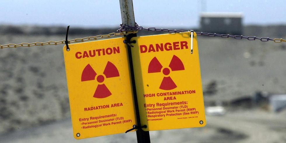 Workers Fear Radiation Exposure After Tunnel Collapse at Nuclear Waste Facility