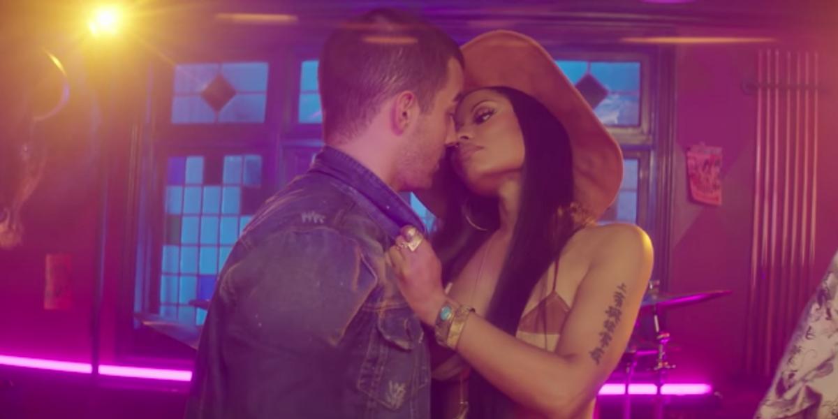 Want to See Cowgirl Nicki Minaj Hit on a Heavily Jacked Joe Jonas?