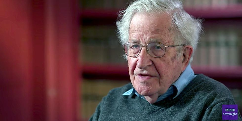 Noam Chomsky: The GOP Is Still the Most Dangerous Organization in Human History