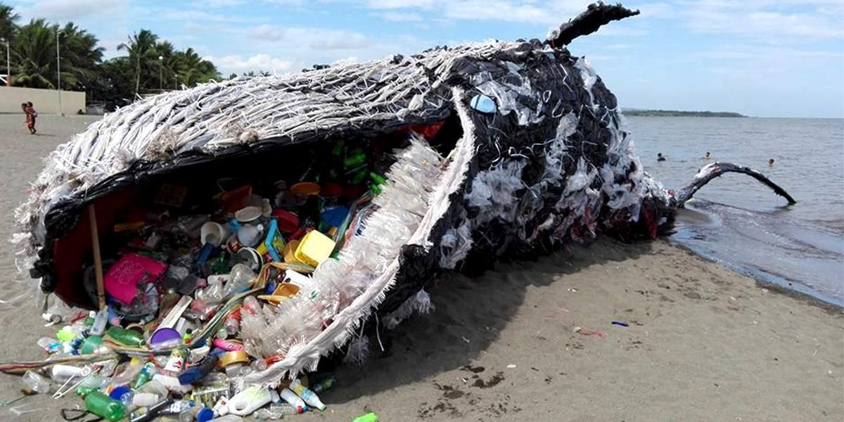 Giant 'Dead Whale' Is Haunting Reminder of Massive Plastic Pollution  Problem - EcoWatch