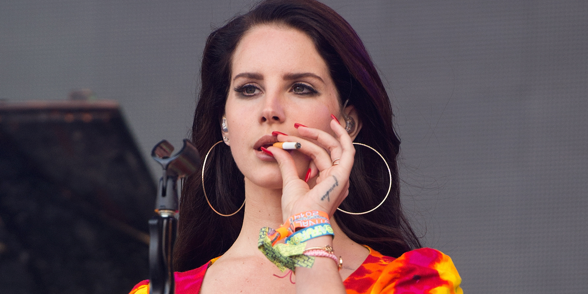 Lana Del Rey's New Song About Being Too Woke to Enjoy Coachella is Here