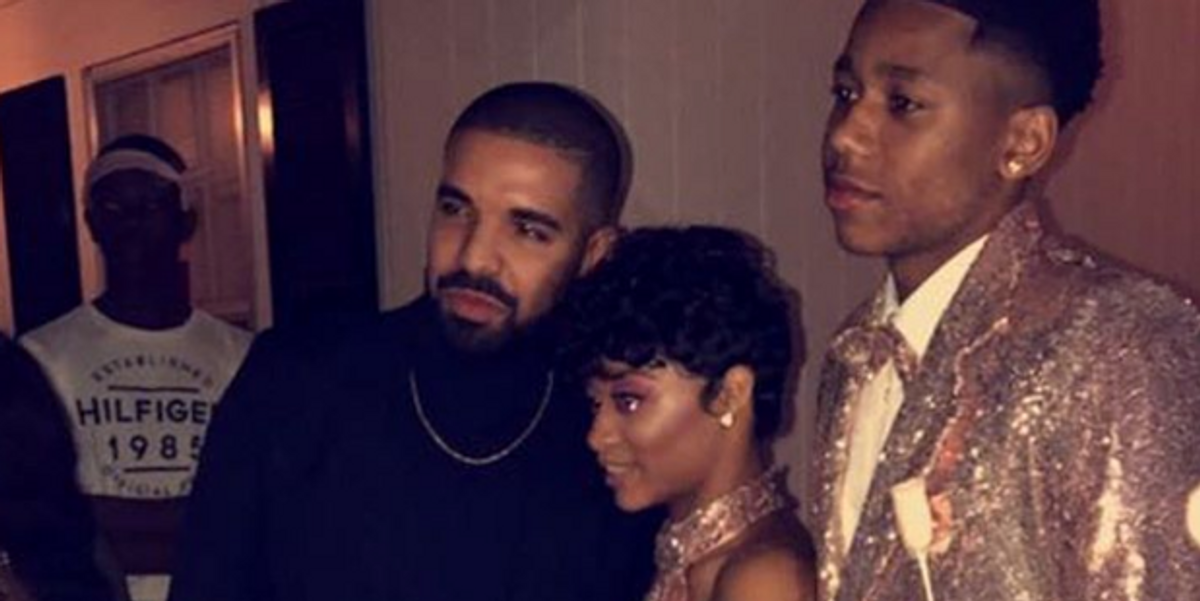 Drake Went to Prom with His Cousin and Made Her Actual Date Miserable