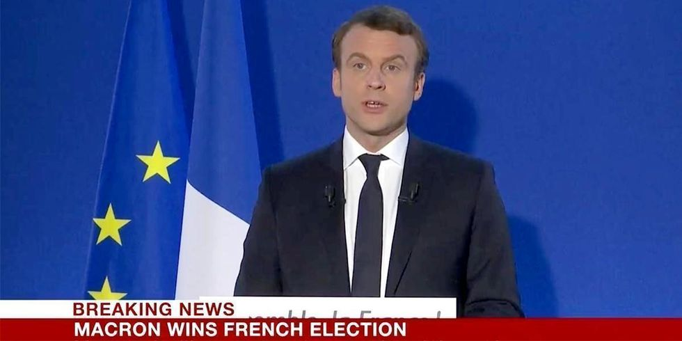 New French President Set to Clash With Trump Over Climate