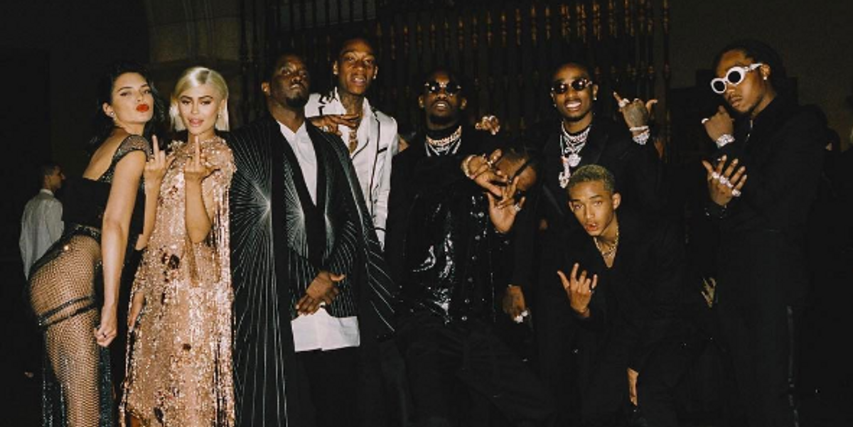 Receipts Prove the Met Gala Pic Was not Diddy's First Time Savagely Cropping the Kardashians